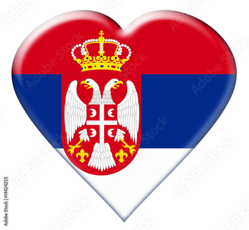 Icon of Serbia Flag