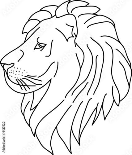 Lion Head Clip Art