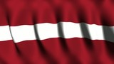 Latvia Flag poster
