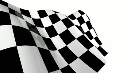 drapeau à damier