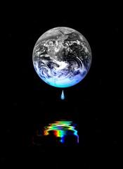 La Terre décolorée
