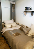 Fototapety Children bedroom in military style