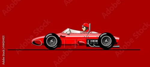 old racing car