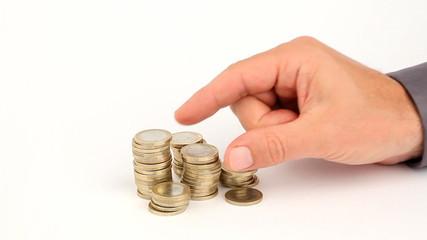 geld zählen sparen