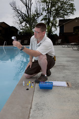 Active Pool  Chemical  Mixing Test