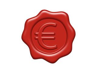 Wachs Siegel Euro