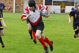 Fototapety rugbymen cours marquer un essai