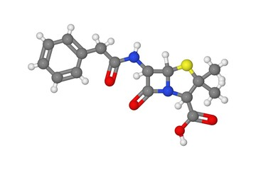 Penicillin molecule