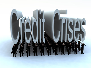 Businessmen Under The Credit Crises 5