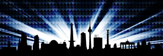 Berlin Skyline Karbonhimmel