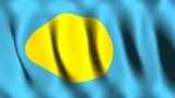 Palau Flag poster