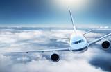 Fototapety Airplane in the sky