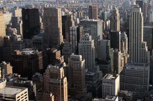 Fototapeta Vue sur les tours de Manhattan - New York