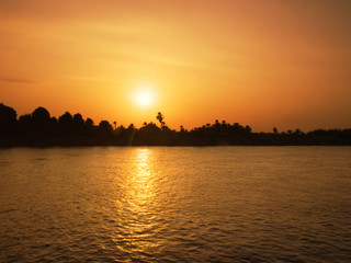 Images from Nile: Sunset