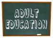 Adult Education - Chalkboard