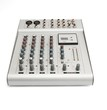 Small sound mixer console isolated