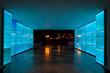 Blue light tunnel