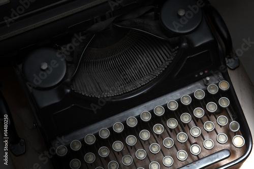 Poster macchina per scrivere - luce d'effetto