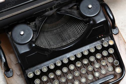 vecchia macchina per scrivere Poster