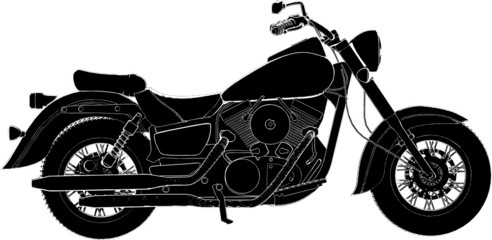 Motorcycle Vector 06