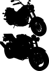 Motorcycle Vector 03