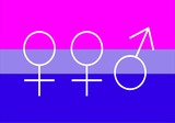 bisexual flag for woman
