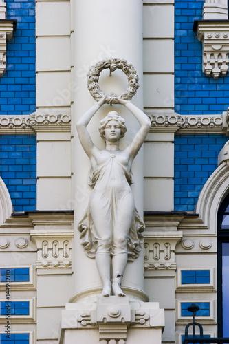 poster of Detail of Art Nouveau building
