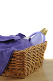 Detergent and Purple Laundry poster