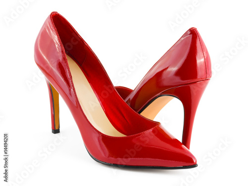 Red shoes - 14494201