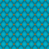 Teal Diamond Seamless Tile