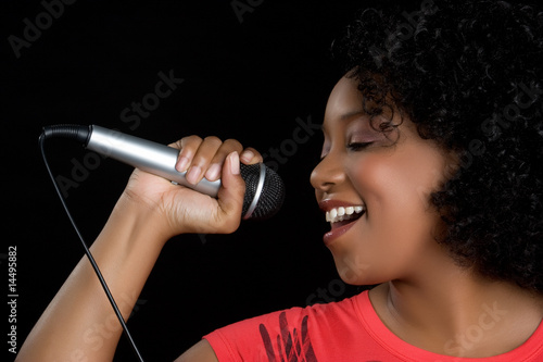 Singing Black Girl