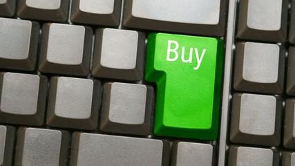 Tastatur oder Keyboard mit Buy