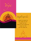 template of yoga brochure - 1 poster