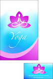 template of yoga brochure - 3 poster