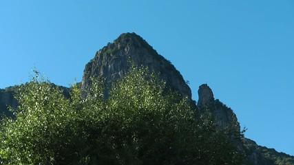 Cima di una montagna