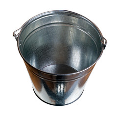 Galvanized steel bucket