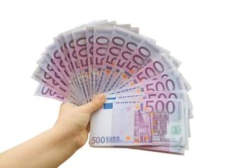 geld zeigen