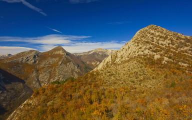 National park paklenica in autumn