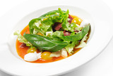Salad with Smoke-cured Duck Breast poster