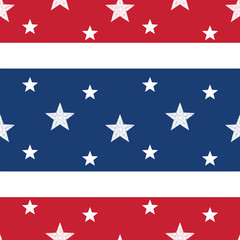 Stars & Stripes Seamless Tile