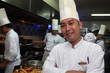 chef posing at work