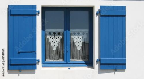 Bretagne mer maison porte fen tre coquillage broderie for Rideau exterieur porte fenetre