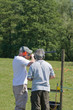 shooting clay pigeon - 14544095