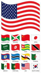 Vector Flag Collection