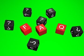 FAQ 3d animation green screen