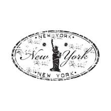 Нью-Йорк резиновый штамп