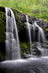 SHOHOLA FALLS POCONO MOUNTAINS