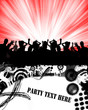 party flyer-crowd