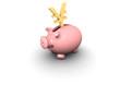 piggy bank yen