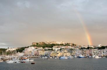 arcobaleno a Procida